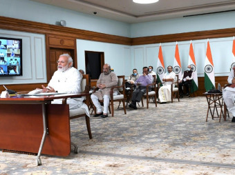 அரசியல் கட்சிகளின் தலைவர்களுடன் பிரதமர் கலந்துரையாடல் !